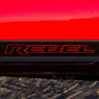 Dodge Ram Rebel Logo Side Flare Truck Vinyl Decal Graphic Reflective Camo Chrome