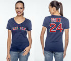 David Price Boston Red Sox MLB  #24 Jersey Style Women's Graphic T Shirt on Ebay