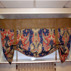 Patronage Made To Order French Country Burlap And Your Choice Of The Fabric Valance