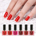 BORN PRETTY 6ml Red Nail Polish Peel Off Nail Varnish Long Lasting  Tips
