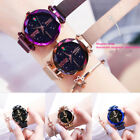 Luxury Starry Sky Masonry Watch Magnet Strap Buckle Stainless Watch Women Gifts image