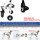 New Adjustable Pet/Dog Wheelchair To Make Small Handicapped Dog Run 0-11LB