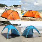 Finether Dome Tent Outdoor Beach Shelter Canopy Shade House All Day Camping US