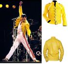 Freddie Mercury Costume Wembley Rock Star Mens Freddy Fancy Dress Outfit Jacket