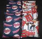 Minnesota Twins CORNHOLE BEAN BAGS Baggo Toss Game MLB 8 Quality Handmade Bags! on Ebay