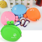 Cat Silicone Dog Water Storage Snacks Wallet Pet Food Bag Training Treat Pouch