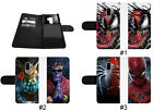 Deadpool Thanos phone case Leather Wallet Black for iPhone Apple Samsung Galaxy