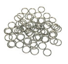 stainless steel 304 jewelry chainmaille jump rings open 8mm 18 gauge