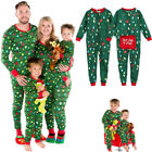 Family Matching Rompers Christmas Pajamas Sets Adult Kids Fall Sleepwear Pyjamas
