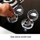 2/4 Pcs Clear Gas Stove Knob Cover Kit Kitchen Switch Protective Covers