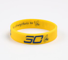 New NBA Stephen Curry Silicone Wristband Rubber Bracelet Basketball Sports