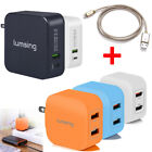 5V 2A Wall Charger Adapter 2-Port Dual USB Fast Charger Universal For iPhone NEW