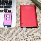 Dual Coil & Arc Touch Sensor Electric Lighter USB Rechargeable Windproof Lighter