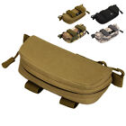 Tactical Molle Sunglasses Case Pouch Outdoor Anti-shock Glasses Carrier Holder