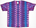 Adult TIE DYE Purple DNA TShirt 5X 6X grateful dead art hippie plus sizes tye