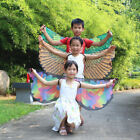 Festival Cloak Wings Butterfly Costume Kid Birds Children Girl Fairy Cosplay