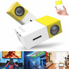 LCD Mini LED Projector Home Theater 2000 lm Support SVGA 20inch Screen/ HVGA
