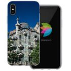 Dessana Barcelona Architecture Silicone Protection Cover Case Pouch for Apple