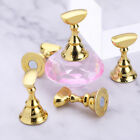 Magnetic Nail Tip Holder Practice Display Acrylic Stand Clear Nail Art Tool