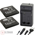 Battery or CHARGER DMW-BCK7E for Panasonic Lumix DMC-FS14 FS16 FX80 FH2 FH4 S1
