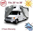 Class C RV Camper Cover Motorhome 4 Layers  (Sizes 20' to 38') 3 Years warranty