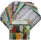 24pcs DIY Album Scrapbook Pads Paper Hand Account Card Making Background Paper