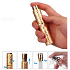 10ml mini aluminum refillable perfume bottle with spray empty cosmetic container