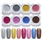Holographic Nail Powder Fine Dust Glitter Nail Art Face Body Eye Shadow Powders