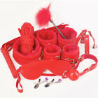 Bondage Cuffs BDSM Adult Toy for Couples Sex-toys Set 10 PCS