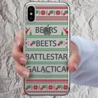 Bears Beets Battlestar Galactica The Office Phone Case for iPhone X 10 r s Max 8