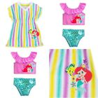 Disney Store Ariel Swimsuit  Swim Cover Up for Baby Little Mermaid Flounder NEW