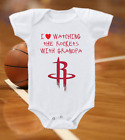 Houston Rockets Onesie Bodysuit Shirt Love Watching WIth Grandpa on eBay