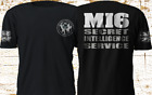 New MI6 Secret Intelligence Service UK James Bond Black T-Shirt S-4XL $23.5 USD on eBay