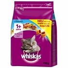 Cat Food Dry Whiskas Felix - Eco-Packs Rich in Vits & Minerals Various Flavours