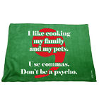 Kitchen Cooking Tea Towels - Like Cooking Family Use Commas - Cooking Cleaning