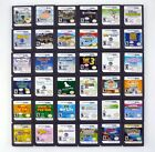 NINTENDO DS GAMES - 29 Different Cartridges - Select Title From Drop Down Menu