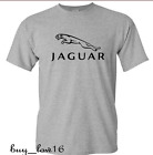 JAGUAR   MEN'S T SHIRT GRAY  FREE SHIPPING SIZE{ S TO 2XL } image