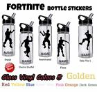 Fort - Nite Personalized Water Bottle Vinyl Stickers Many Designs Available