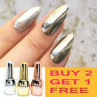 BUY 2 GET 1 FREE Santee Mirror Effect Nail Polish 14ml, Random