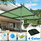 Sun Shade Sail Rectangle Patio Top Replacement Cover 16*20 Top Canopy Shelter FA