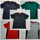 Puma Kids Boys Football Training T-shirt in Many Colours Polyester.