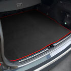 Fits For Nissan Note Boot Mat (2006 -2013) Black Tailored [Bottom Level]
