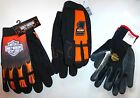 HARLEY DAVIDSON MECHANIC FLAMES #1, RACING, RUBBER DIPPED KNIT GLOVES Assort Sz $14.75 USD on eBay