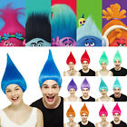 Colourful Trolls Poppy Cosplay Wig Cartoon Characters Elf/Pixie Hairpiece Unisex image