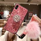 Girls Bling Luxury Diamond Stand Airbag Bracket Case Cover For iPhone XS MAX 8 6