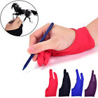 1pc Two Finger Anti-fouling Glove For Artist Drawing  Pen Graphic Tablet Pad