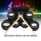Tragbarer USB-Rollup Electronic Drum Pad Kit Stick Entertainment Kindergeschenk