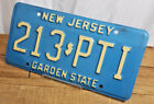 VINTAGE LICENSE PLATE - NEW JERSEY