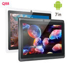 Q88 7in Andriod 4.4 Quad Core 512M+4G 1.3MP 1020x800 Camera Kids Tablet PC