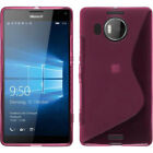 For Microsoft Nokia Lumia Phones S Line Soft Gel TPU Silicone Skin Cover Case